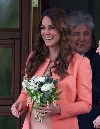 Kate Middleton Steps Out for First Time Since Giving Birth
