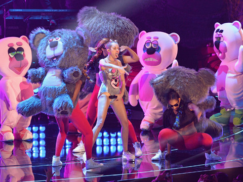MTV VMAs: Miley Cyrus Responds to Twerking Controversy with Naughty Pics