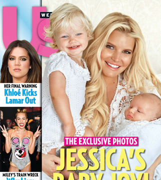 First Pic! Jessica Simpson Debuts Baby Ace Knute Johnson
