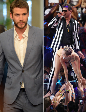 Liam Hemsworth 'Mortified' by Miley Cyrus' Raunchy Twerking at MTV VMAs