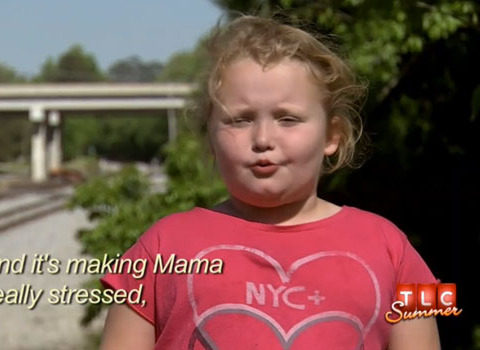 'Honey Boo Boo' Sneak Peek: 'Stress Poop'