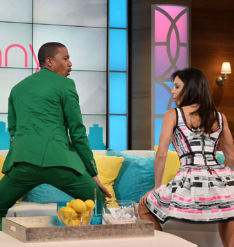Twerking 101: Nick Cannon's Booty-Shaking Lesson with Bethenny Frankel