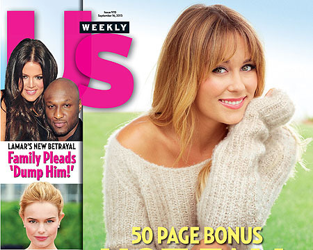 Lauren Conrad Graces Cover of Us Weekly Fall Fashion Issue