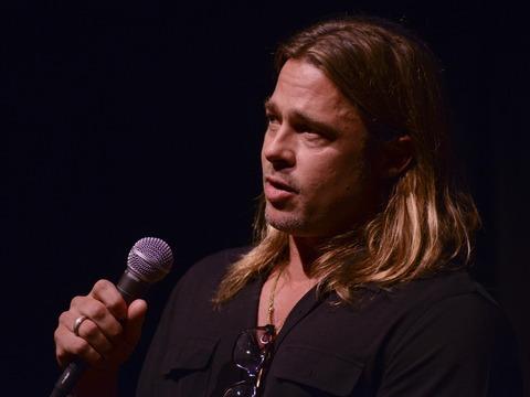 Brad Pitt, Robert Redford at Telluride Film Festival