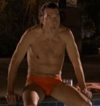 Jerry O'Connell Is Spending a Lot of Time in Speedos These Days