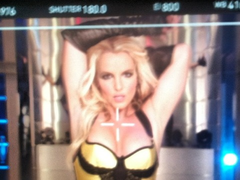 Hot Pic! Britney Spears Teases 'Dirty, Flirty' Music Vid