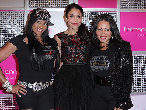 Video! Salt-N-Pepa Helps Kick Off 'bethenny' Premiere