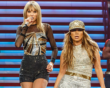 Extra Scoop: Taylor Swift and J.Lo Team Up for New Single