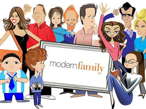 See Robert Risko Print of 'Modern Family' Cast!