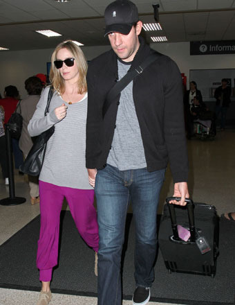 Baby News! Emily Blunt and John Krasinski Expecting First Child