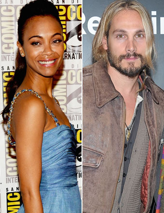 Zoe Saldana Weds in Secret Ceremony!