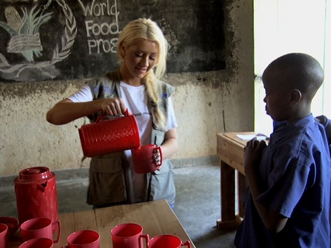 Christina Aguilera Launches PSA to Help Stop World Hunger