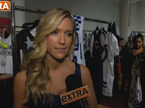 Video! Kristin Cavallari Shows Off NFL-Themed Collection at NY Fashion Week