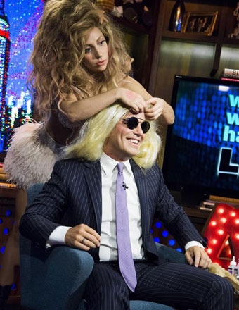 Lady Gaga Defends Miley Cyrus, Dishes on Loving Lesbians and Stripping