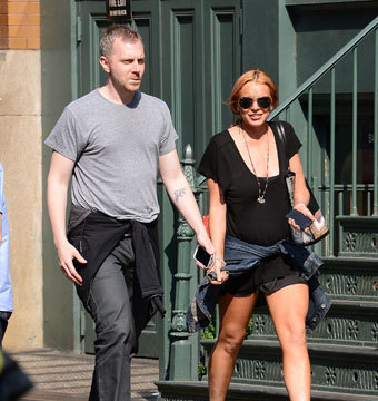 Gossip Girl: Lindsay Lohan's Mystery Man Identified