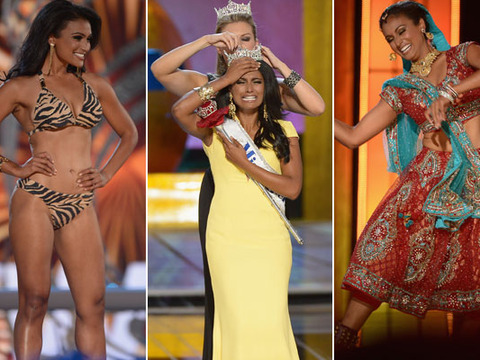 Miss America Crowns First Winner of Indian Ancestry