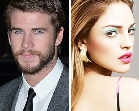 Liam Caught Kissing Eiza González, Miley 'Smiling'