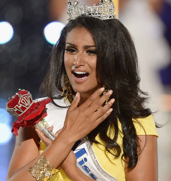 Miss America Nina Davuluri Opens Up About Racist Remarks
