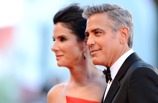 Sandra Bullock on George Clooney Bonding with Her Son