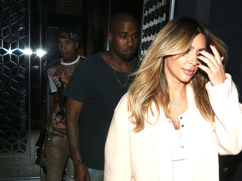 Pic! Kim Kardashian and Kanye West Spotted on Double Date