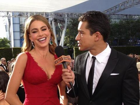 Pics! Emmy Red Carpet Interviews with Mario and Maria