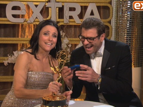 'Extra' at Emmys 2013: Backstage with the Winners