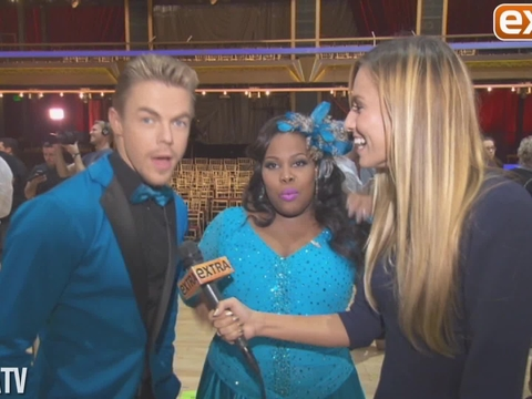 Backstage at 'Dancing with the Stars': Reactions, Surprises and Hot Moments