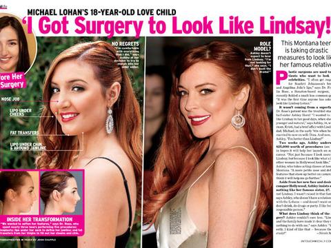 Lindsay Lohan's Half-Sister Gets Plastic Surgery to Look Like LiLo