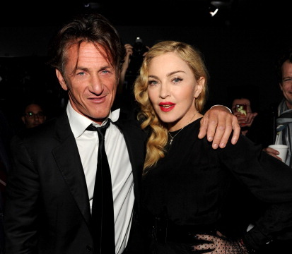 Pic! Madonna and Sean Penn Reunite at 'SecretProjectRevolution' Premiere