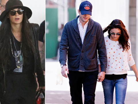 Demi Moore 'Wasn't Happy' to See Ashton Kutcher and Mila Kunis in Israel