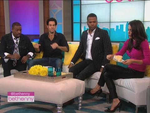 Video! AJ Calloway Visits 'bethenny'