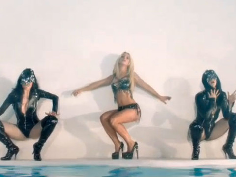 Britney Spears Teases New 'Work B**ch' Video