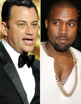 Jimmy Kimmel and Kanye West to Make Amends