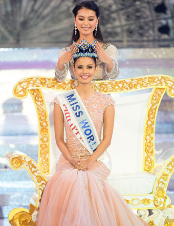 Miss Philippines Megan Young Crowned Miss World