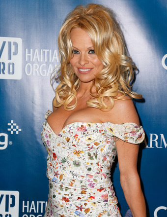Pamela Anderson to Run Marathon for Haitian Charity