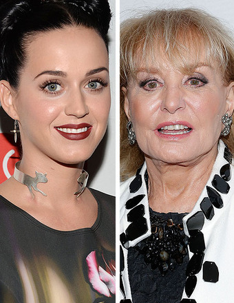 Barbara Walters Apologizes for Scolding Katy Perry