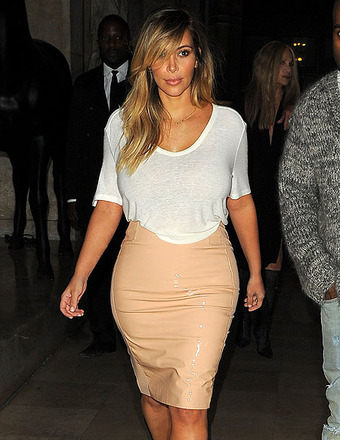 Pic: Kim Kardashian's Curves Are Back!