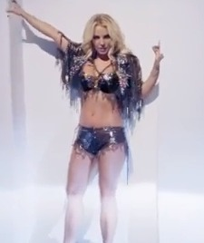 Britney Spears Premieres 'Work B**ch' Video