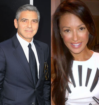 Hot Hookup! George Clooney Spotted with Croatian Model