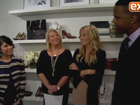 Kate Hudson and Ann Taylor Mentor Young Women