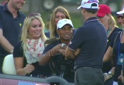 Lindsey Vonn, Tiger Woods… and a Squirrel Named Sammy