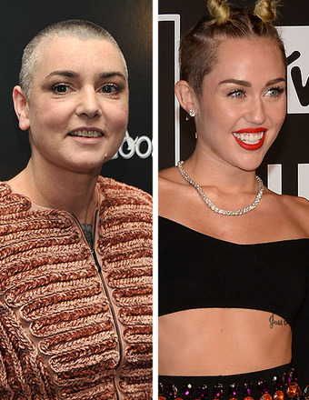 Sinead O'Connor vs. Miley Cyrus: Apologies Demanded, Lawsuits Threatened