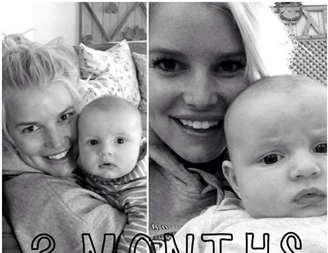 Jessica Simpson Shares Pic of Baby Ace at 3 Months