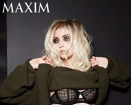 Taylor Momesen in Sexy Lingerie for Maxim