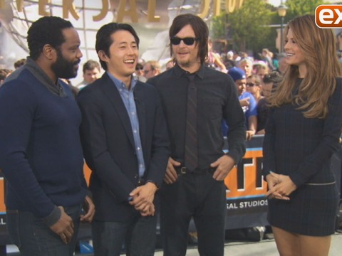'The Walking Dead' Cast on Surviving a Real Zombie Takeover
