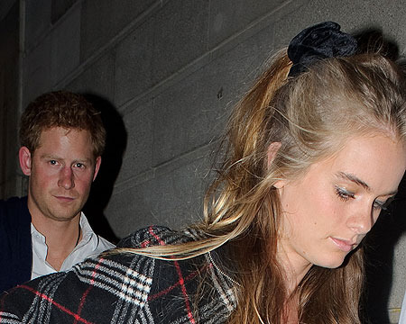Royal Christening: Why Didn't Prince Harry's GF Cressida Bonas Make the Guest List?