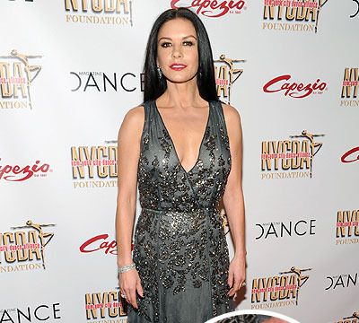 What Divorce? Catherine Zeta-Jones Spotted Wearing Wedding Ring