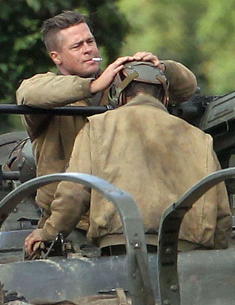 Stuntman Stabbed with Bayonet on Set of Brad Pitt Movie