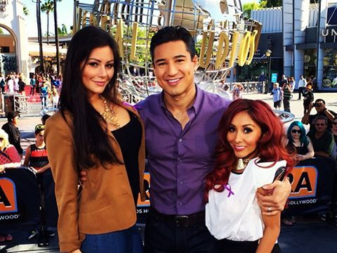 Nicole and Jenni Talk Season 3 of 'Snooki & JWoww' with Mario Lopez