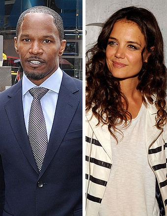 Jamie Foxx Laughs Off Rumors He's Dating Katie Holmes